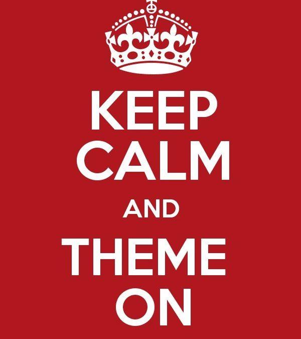 #themeon or #themeoff
