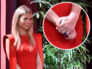 Gwyneth Paltrow's engagement ring