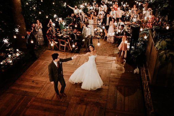 pista da ballo matrimonio