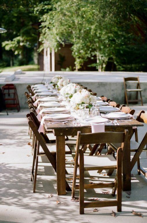 table micro-wedding