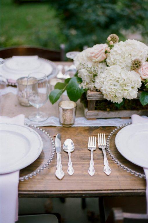 mise en place micro-wedding