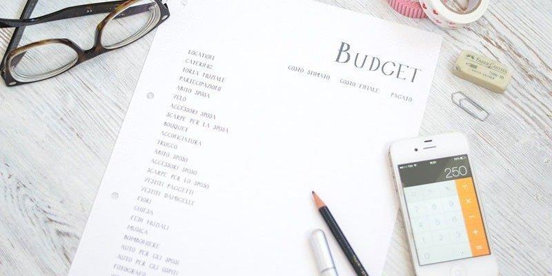 pianificare e gestire budget matrimonio
