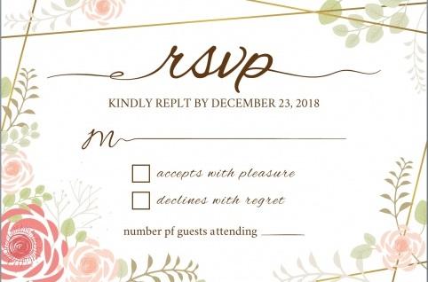 rsvp partecipazioni