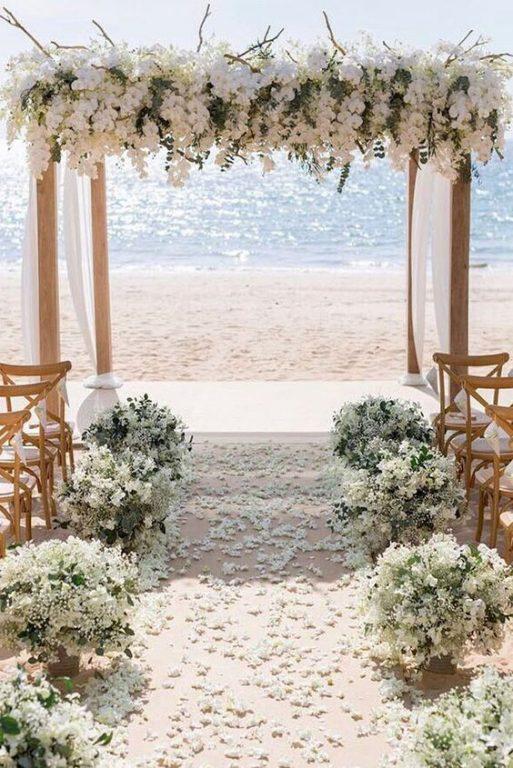 set-up arco cerimonia