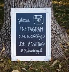 hashtag con iniziali