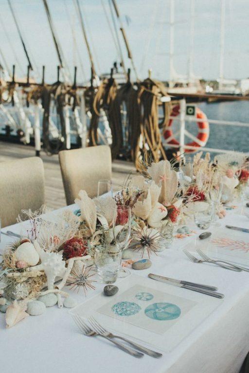 matrimonio in stile marino